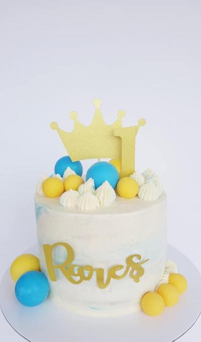 Ornamet tort sub formă de coroana de prințesă [3]