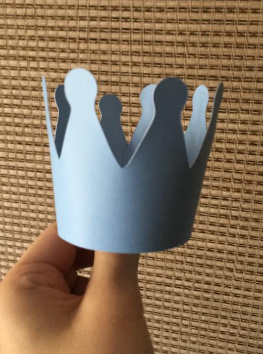 Topper tort coronita print bleu [0]