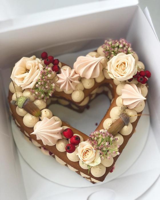 Sablon tort inima 2