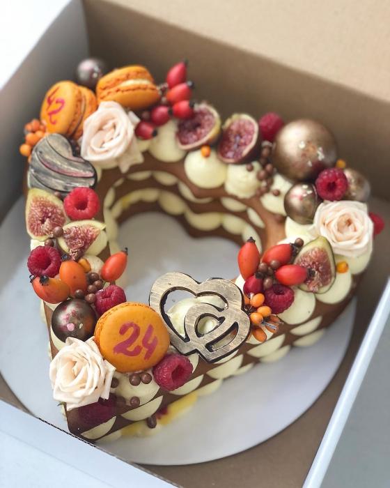 Sablon tort inima 3