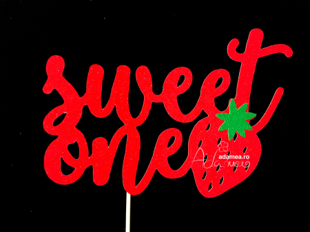 Topper Sweet ONE capsuna [0]