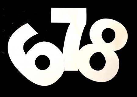 Șabloane pentru torturi cifră (set) [2]