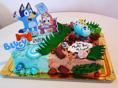 Suită toppere tort Bluey2