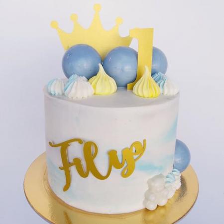 Ornamet tort sub formă de coroana de prințesă [2]