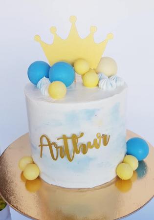 Ornamet tort sub formă de coroana de prințesă [1]