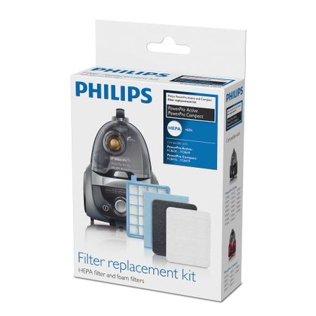 Kit filtre de schimb Original Philips FC8058/01 - PowerPro Active, PowerPro Compact 2