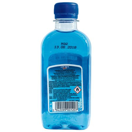 Alcool sanitar Mona 200 ml 1