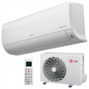 Aparat de aer conditionat LG Deluxe Inverter DM24RP 24000 Btu/h Wi-Fi inclus0