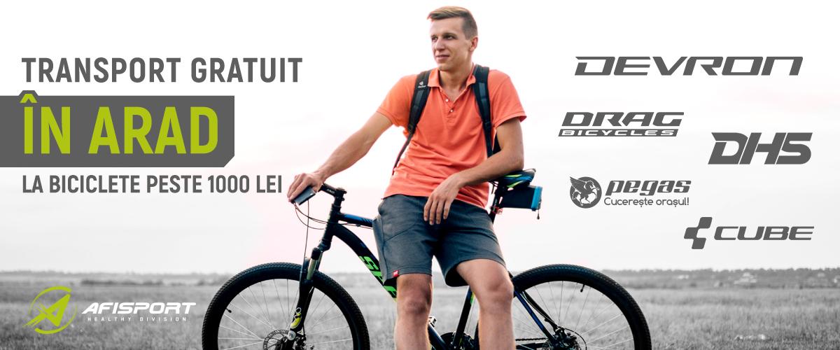 Biciclete Arad Transport Gratuit