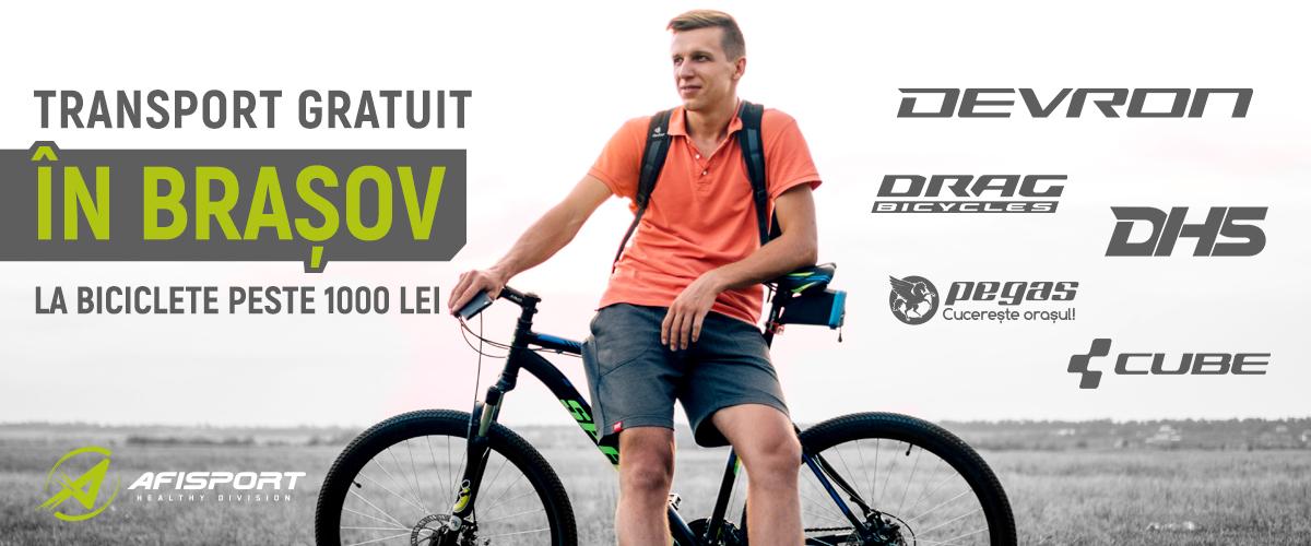 Biciclete Brasov Transport Gratuit