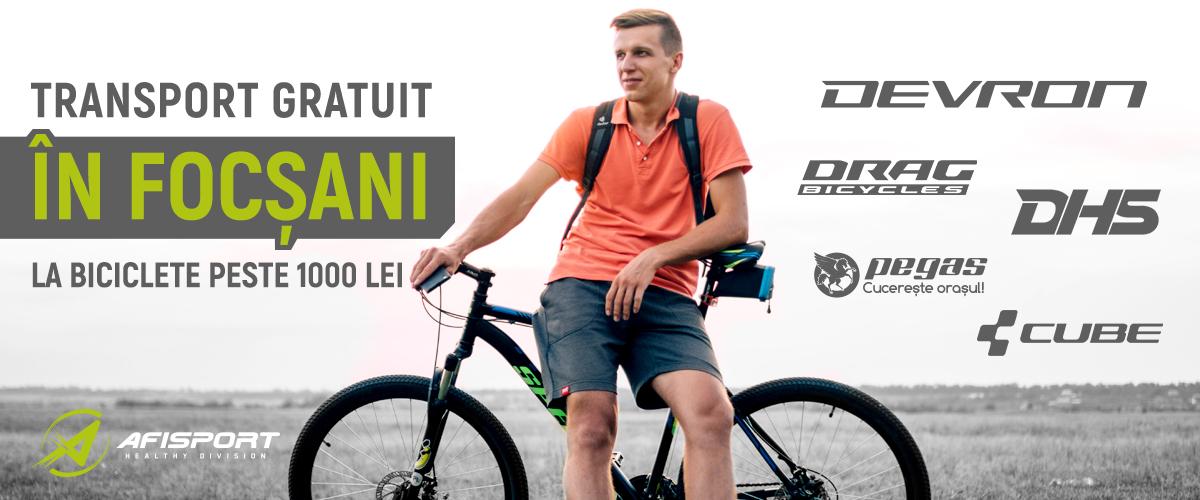 Biciclete Focsani Transport Gratuit