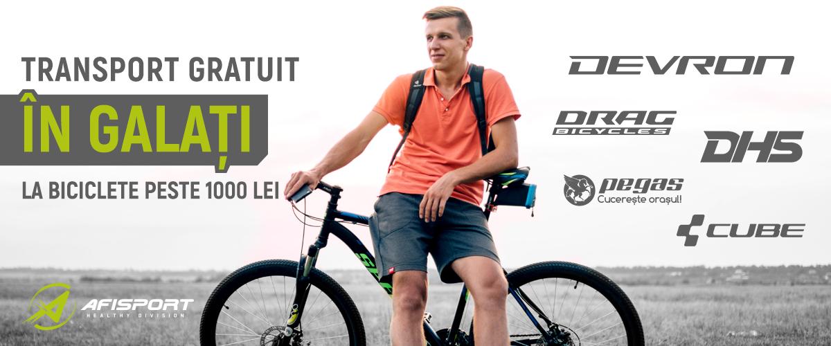 Biciclete Galati Transport Gratuit