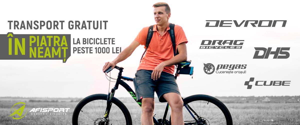 Biciclete Piatra Neamt Transport Gratuit