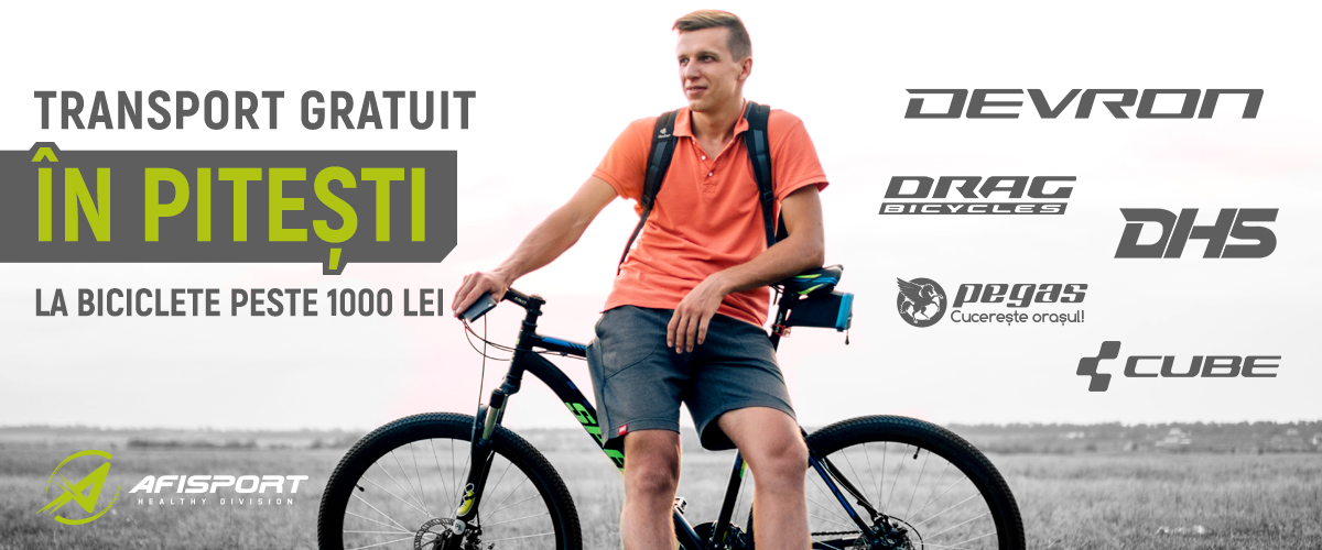 Biciclete Piesti Transport Gratuit