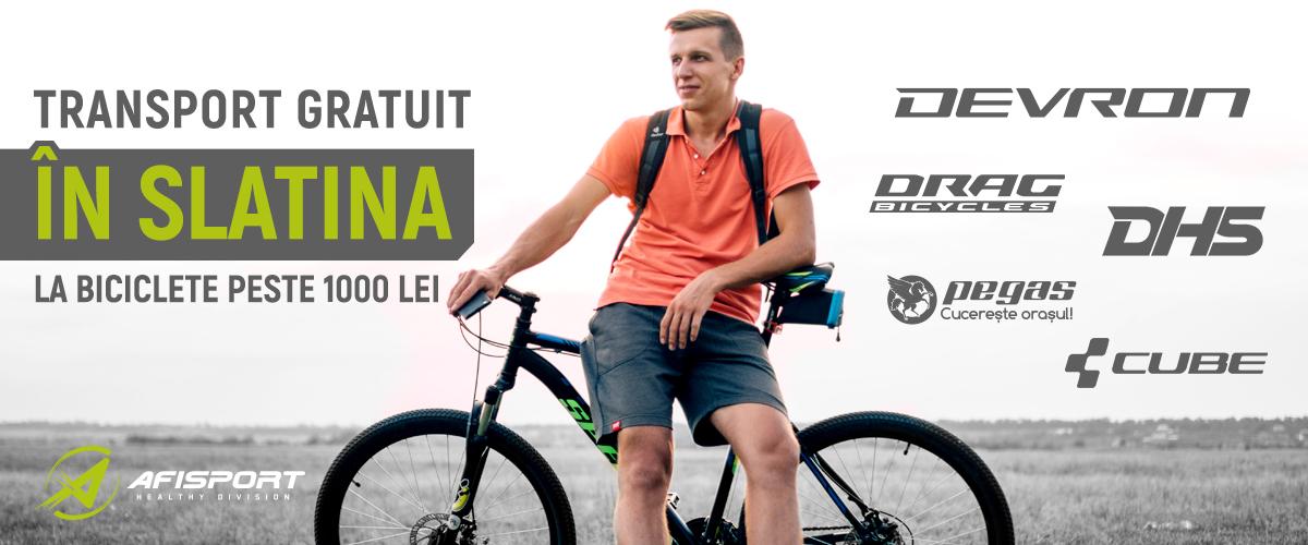 Biciclete Slatina Transport Gratuit