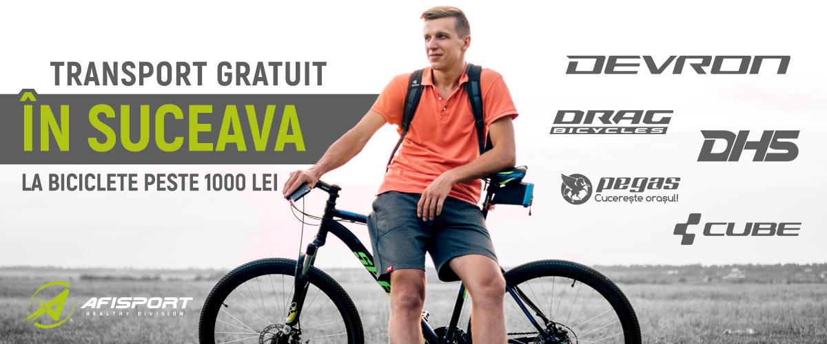 Biciclete Suceava Transport Gratuit