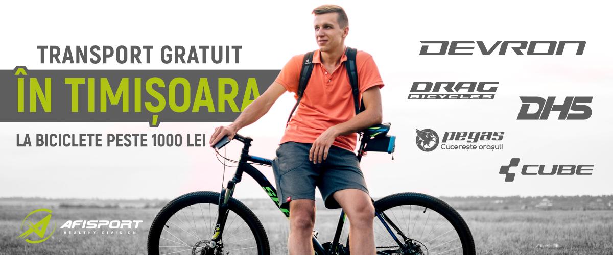 Biciclete Timisoara Transport Gratuit