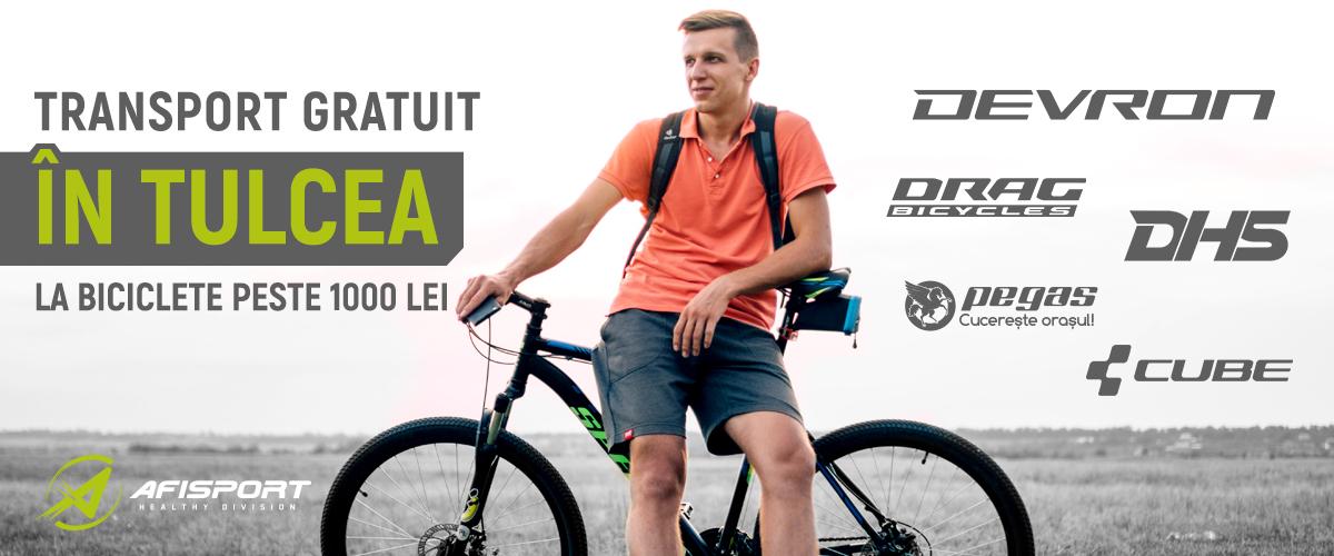 Biciclete Tulcea Transport Gratuit