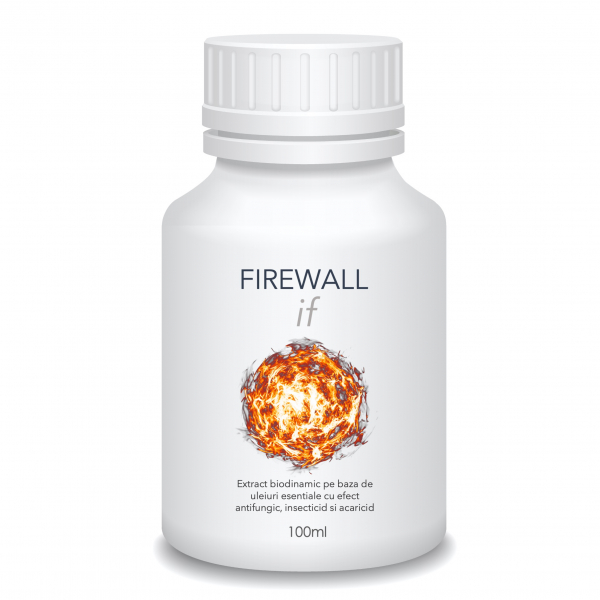 FIREWALL if (100ml) - Extract biodinamic cu efect insecticid, fungicid si acaricid 0