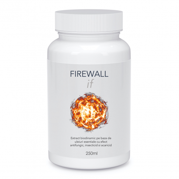 FIREWALL if (250ml) - Extract biodinamic cu efect insecticid, antifungic si acaricid 0