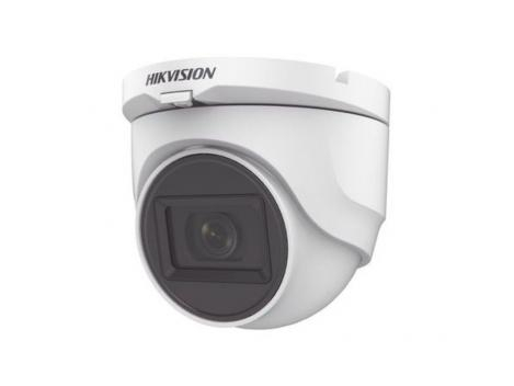 Camera dome 4 in 1, lentila 2.8mm, audio, IR 30 de metri, Hikvision DS-2CE76D0T-ITMFS 0