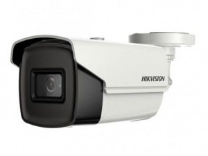 Camera de exterior Ultra low light, 5 MP, lentila 3.6mm, IR 80, Hikvision DS-2CE16H8T-IT5F0