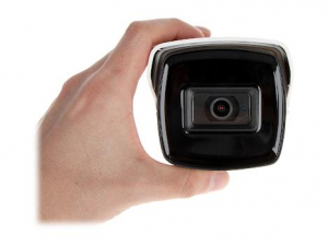 Camera de exterior Ultra low light, 5 MP, lentila 3.6mm, IR 80, Hikvision DS-2CE16H8T-IT5F1