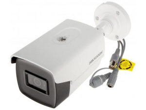 Camera de exterior Ultra low light, 5 MP, lentila 3.6mm, IR 80, Hikvision DS-2CE16H8T-IT5F2