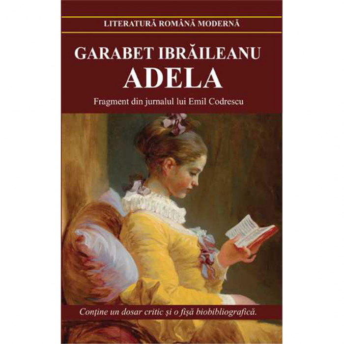 Adela – Garabet Ibraileanu [0]