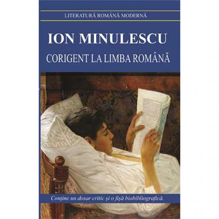 Corigent la limba romana-Ion Minulescu [0]
