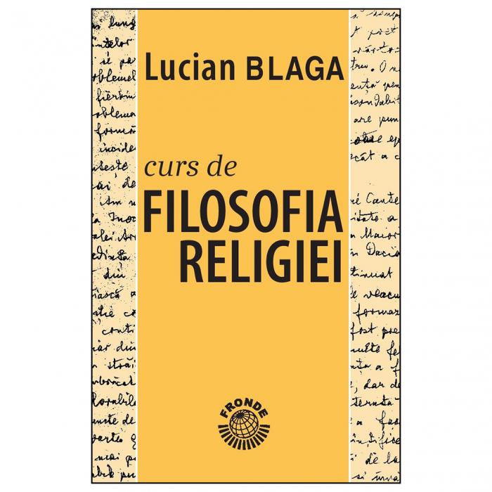 Curs de filosofia religiei [0]