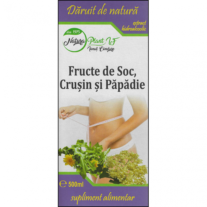 Extract din Fructe de Soc, Crusin si Papadie 500ml [0]