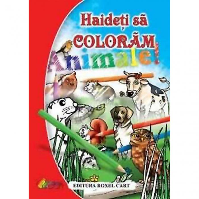 Haideți să colorăm – Animale [0]