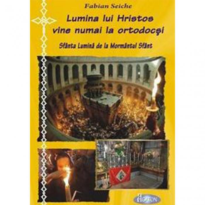 Lumina lui Hristos vine numai la ortodocși. Sfânta lumina de la Mormântul Sfânt [0]