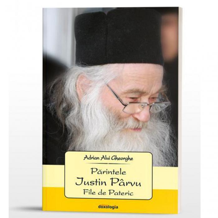 Părintele Justin Pârvu. File de Pateric [0]