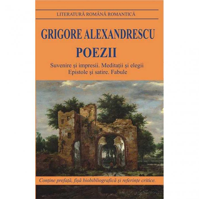 Poezii - Alexandrescu Grigore [0]