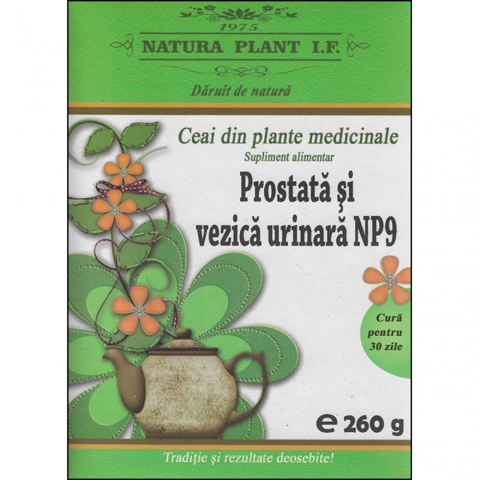 Ceai pentru Prostata si vezica urinara NP9 260gr [0]