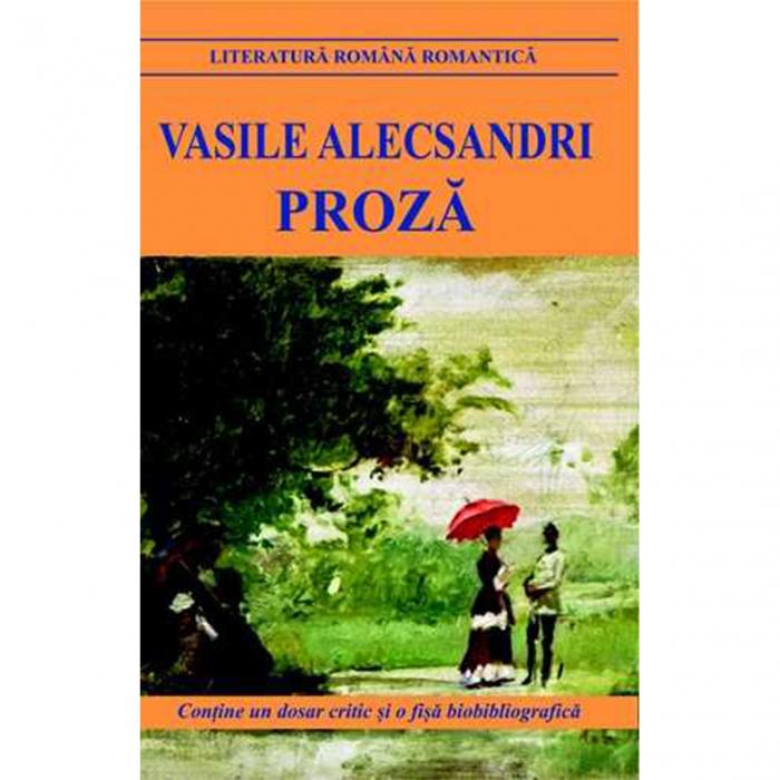 Proza - Vasile Alecsandri [0]