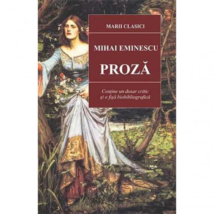 Proza - Mihai Eminescu [0]