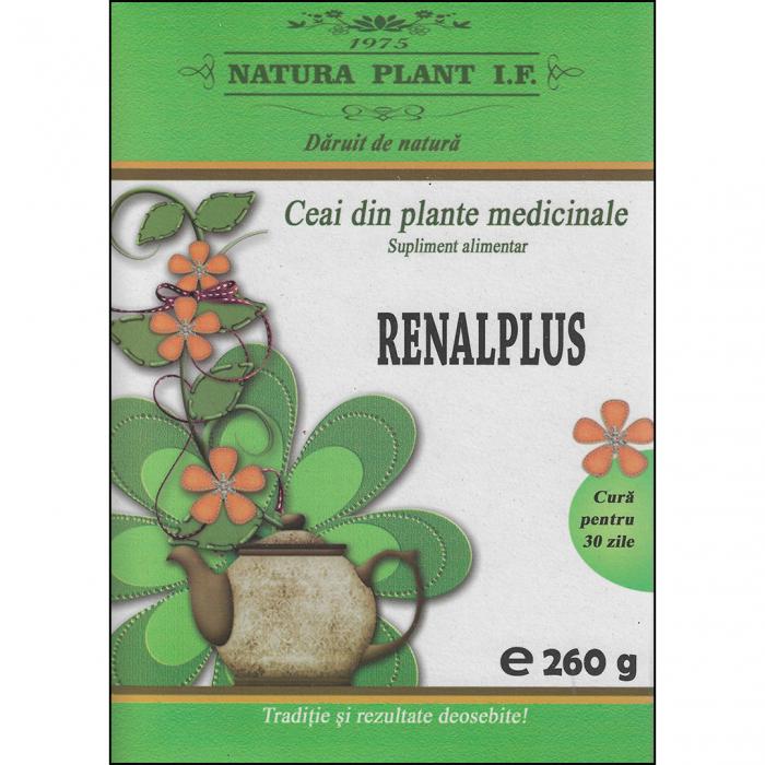 Ceai din plante Renalplus (pentru rinichi) 260gr [0]