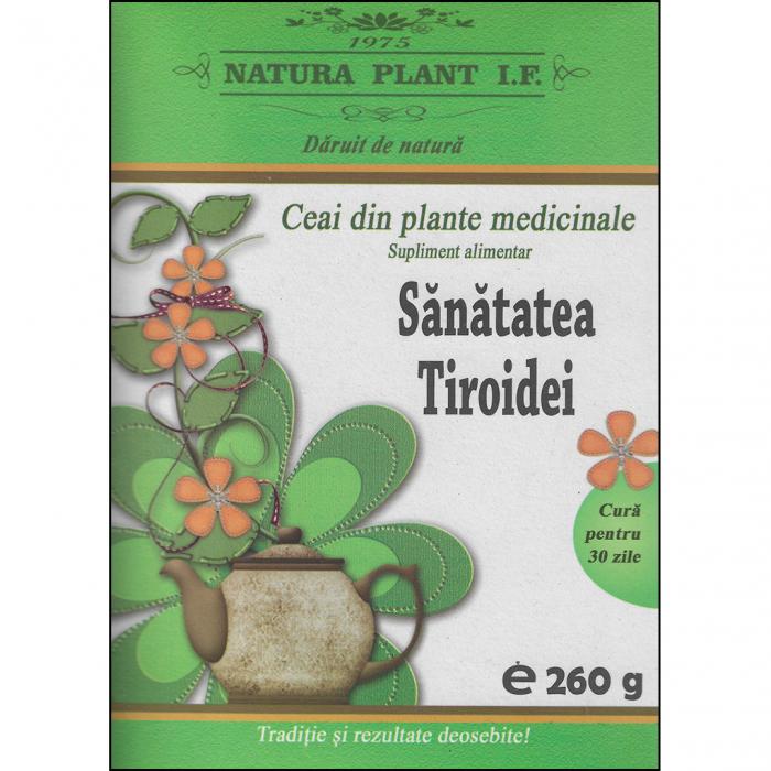 Ceai Sanatatea Tiroidei 260gr [0]