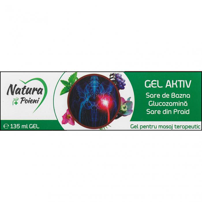 Gel aktiv Sare de Bazna – Glucozamina – Sare din Praid 135 ml [0]