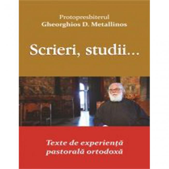 Scrieri, studii... Texte de experiență pastorală ortodoxă [0]