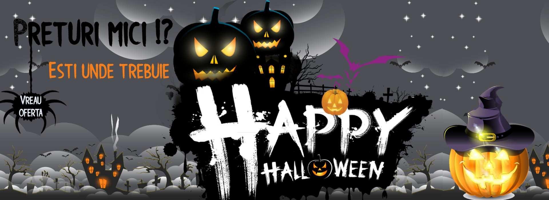 Profita de reduceri! Happy Halloween!