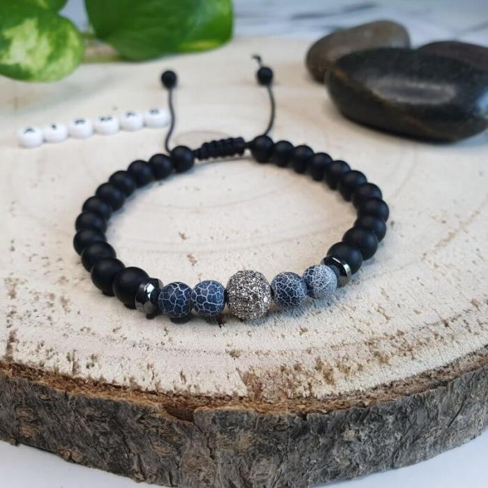 Bratara handmade din pietre semipretioase 1