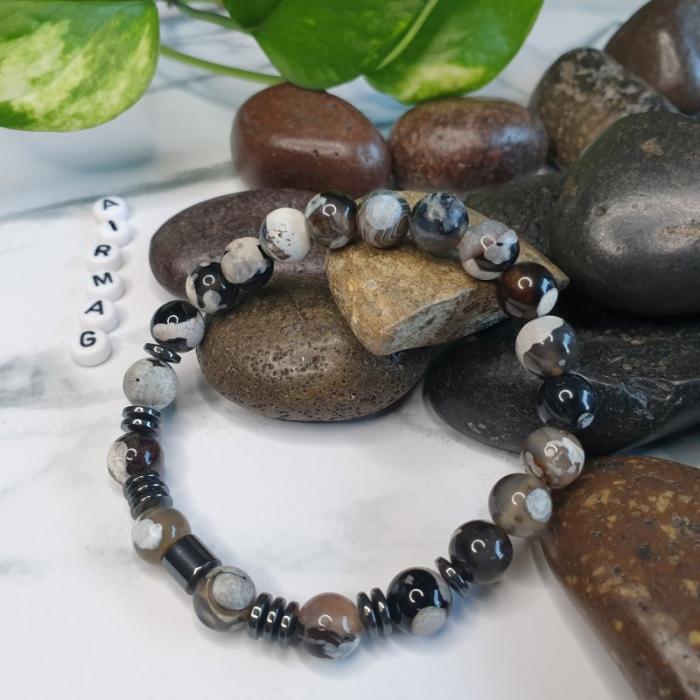 Bratara handmade, Bratara dama, Bratara pietre naturale 0
