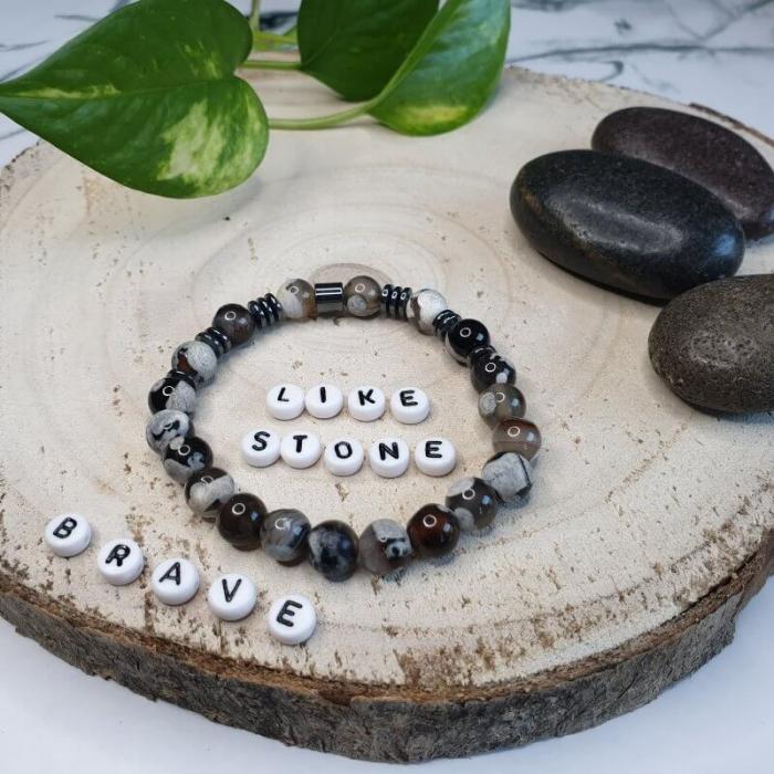 Bratara handmade, Bratara dama, Bratara pietre naturale 5