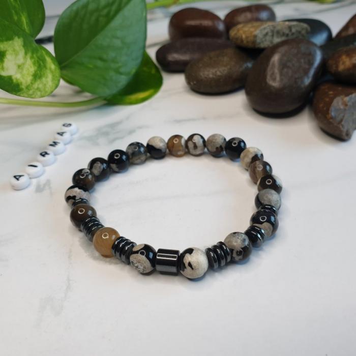Bratara handmade, Bratara dama, Bratara pietre naturale 3