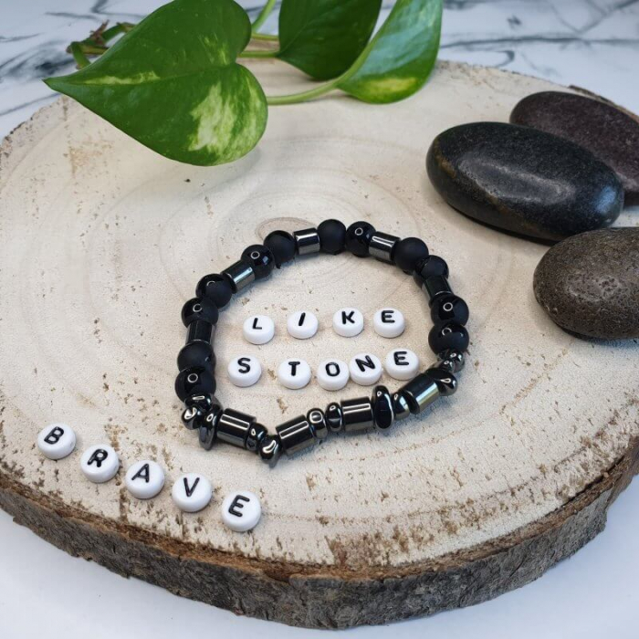 Bratara handmade din pietre semipretioase 3