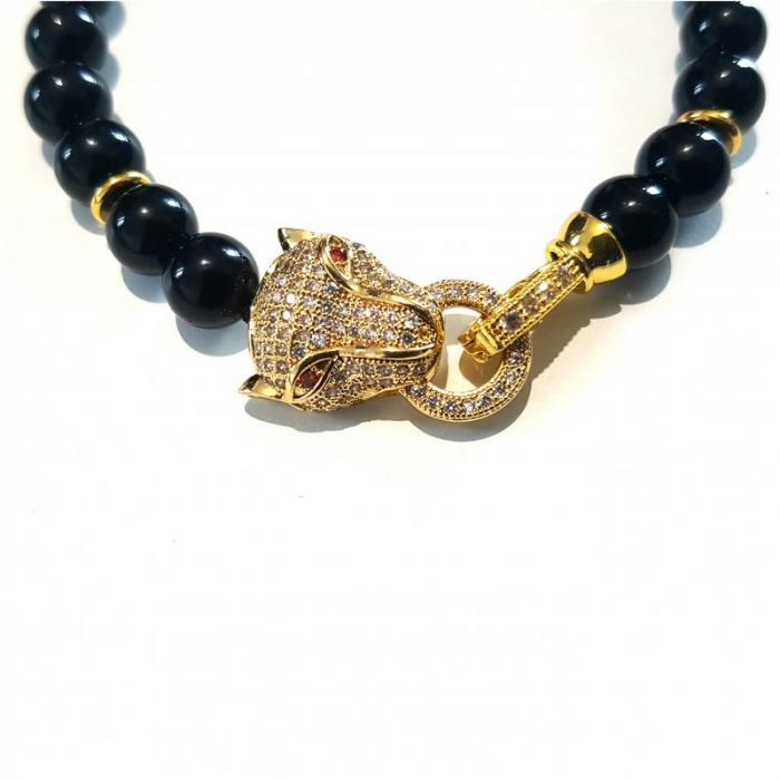 Bratara charm leopard [2]